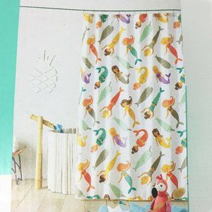 Pillowfort Mermaid Shower Curtain